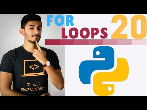 Learn Python Programming - 20 - For Loops