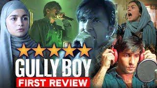 Gully Boy FIRST REVIEW   First Show Reaction   Ranveer Singh And Alia Bhatt   Zoya Akhtar  