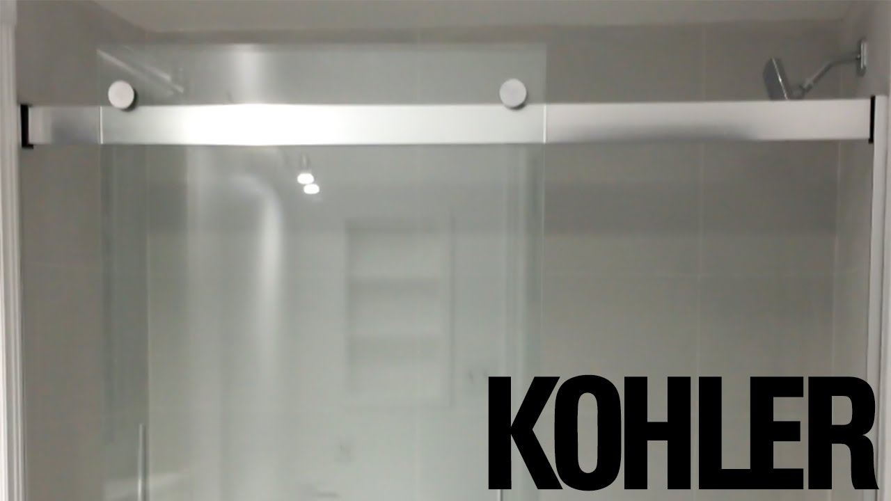 Attractive Kohler Levity(r) 60 Inch   1/4 Inch Glass Bathtub Door UNBOXING    R706000 L SH