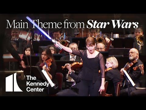 Main Theme from Star Wars - National Symphony Orchestra | LIVE at The Kennedy Center