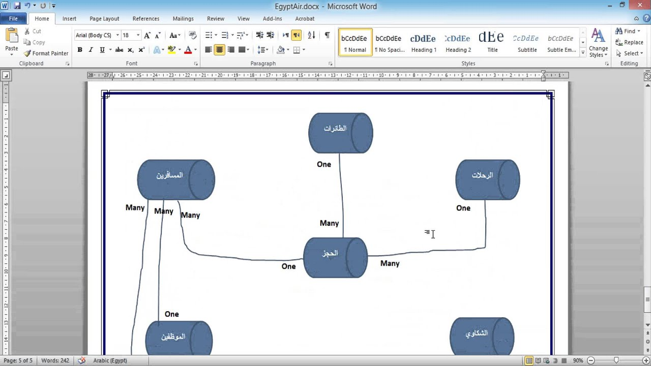 relationship between tables in sql server 2008