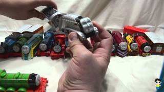 Thomas and Friends TrackMaster Train Collection by Jacob - Kinder Playtime