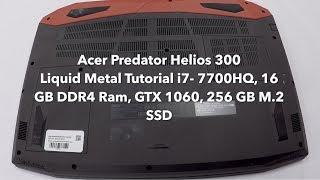 Acer Predator Liquid Metal Upgrade Tutorial