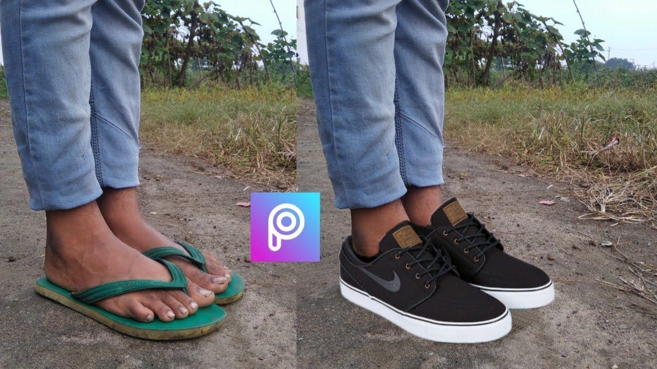 Picsart Sleeper Change Into Shoes Picsart Editing Tutorial Youtube