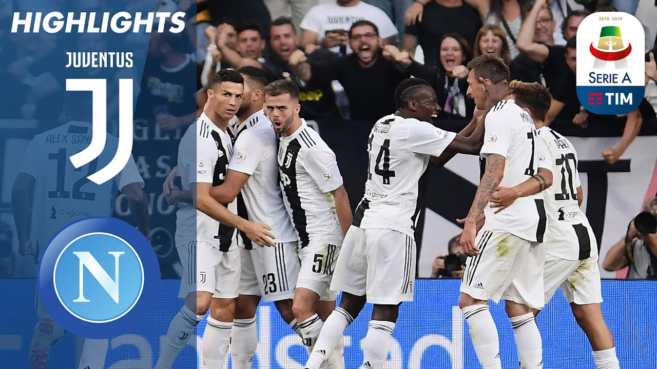 Juventus   Napoli Juventus Win Battle At The Top Serie A