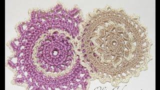 Схемы мотивов  Круглые мотивы Scheme Circular motifs motives(Круглые мотивы - схемами и описанием. Видео урок по вязанию круглых мотивов. Ирландское кружево мотивы,..., 2015-08-22T13:09:06.000Z)