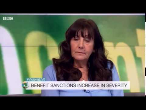 Benefit sanctions #VictoriaLive