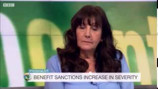 Benefit sanctions #VictoriaLive