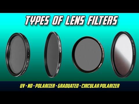 Lens Filter Types | UV, ND, Circular Polarizers, Grad, Variable ND Filters