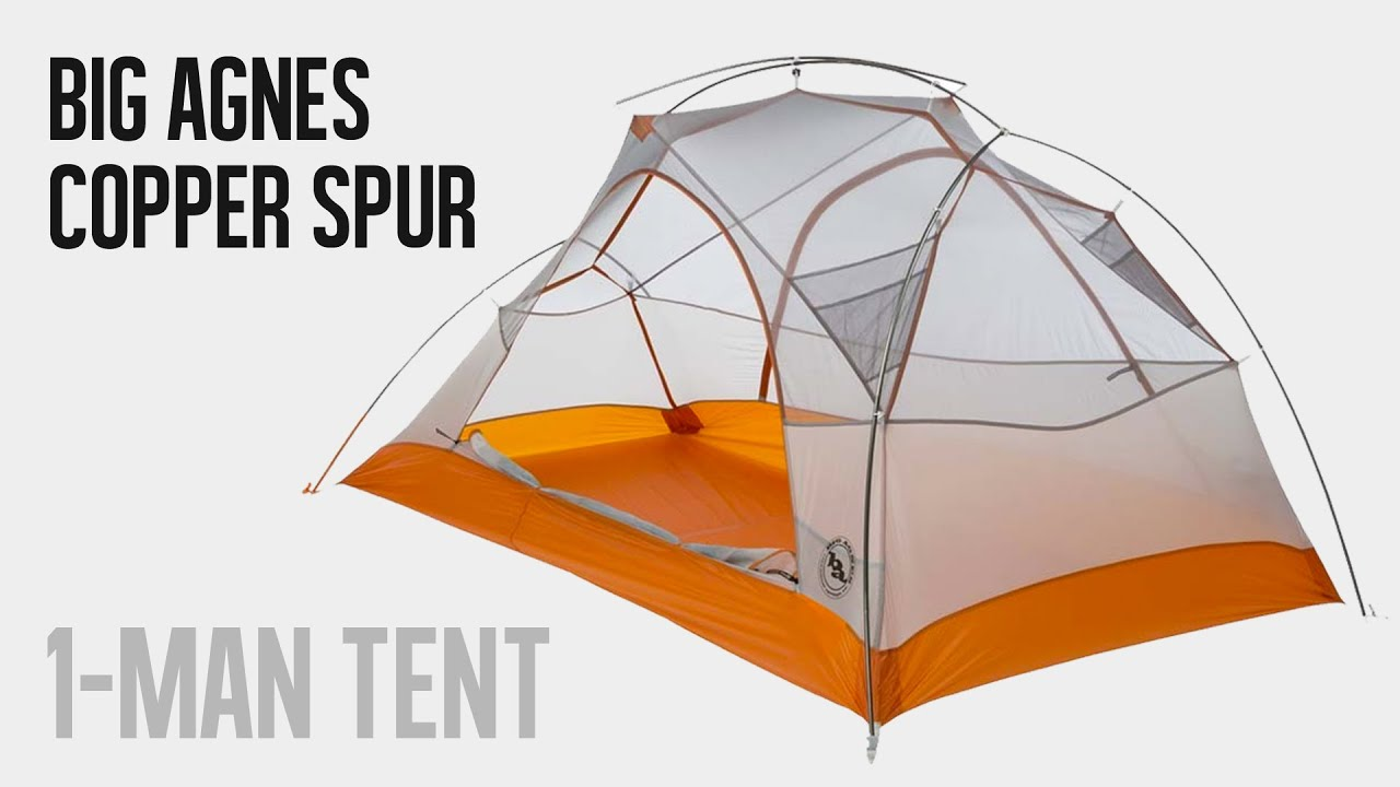 Big Agnes Copper Spur UL1 Tent - VIDEO REVIEW  sc 1 st  YouTube & Big Agnes Copper Spur UL1 Tent - VIDEO REVIEW - YouTube