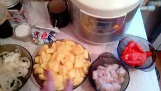 Вкусная Картошка с Минтаем в Мультиварке!