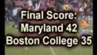 Ron Paul Tea Party Maryland v Boston College Football