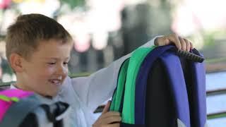 Видео ролик Веселые рюкзаки