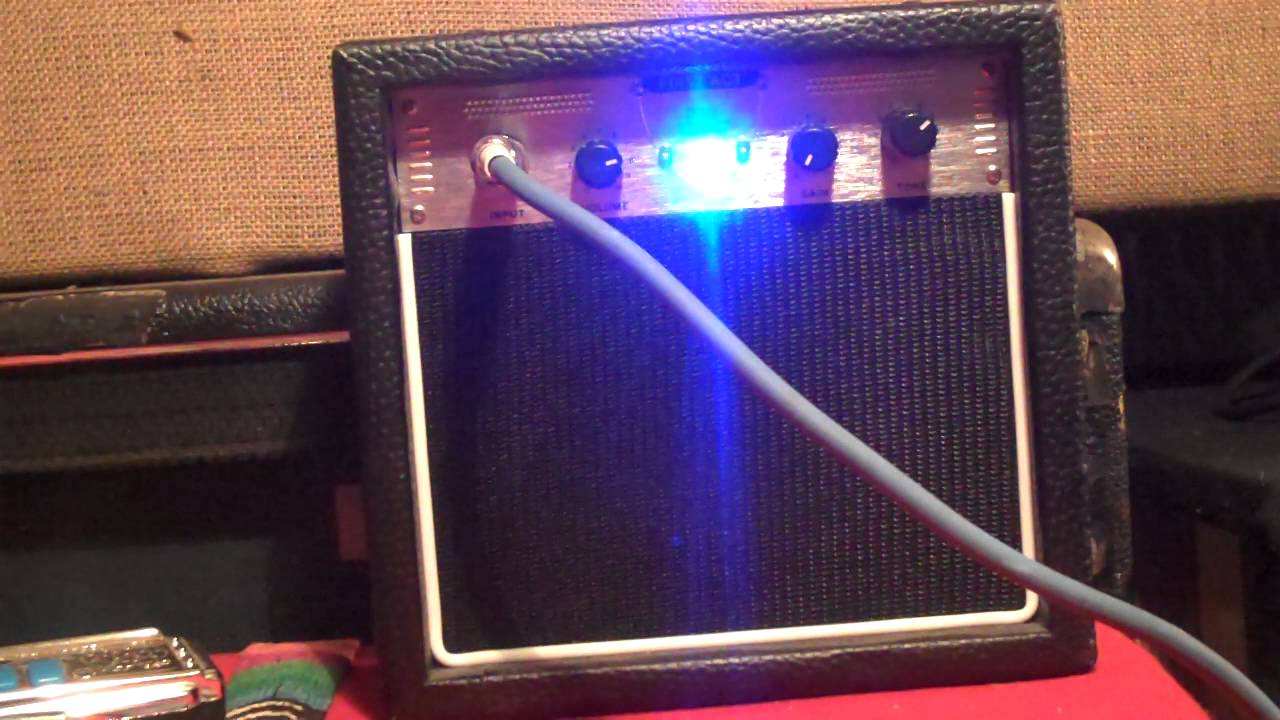 first act ma-007 amp demo. on