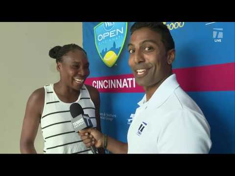 Fun interview from Venus post her win against Bertens xD