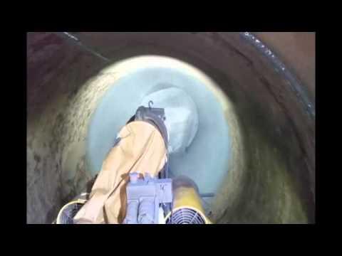 Polyurea coating for the rehabilitation of pipeline