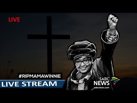 St. George's Cathedral holds memorial service for Mama Winnie