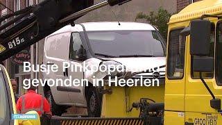 Busje Pinkpopdrama beschadigd gevonden in Heerlen