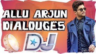 Allu Arjun Dilags  VS. CHATAL BAND DJ SHIVA