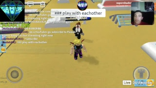 roblox live streaming con DU Recorder