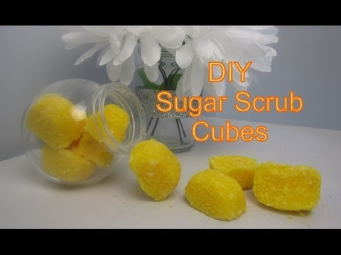 {DIY Beauty} DIY Sugar Body Scrub Cubes