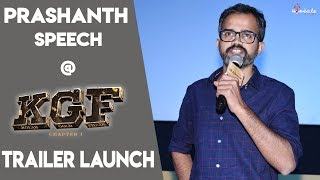 Prashanth Neel at #KGF Trailer Launch | Yash | Srinidhi Shetty