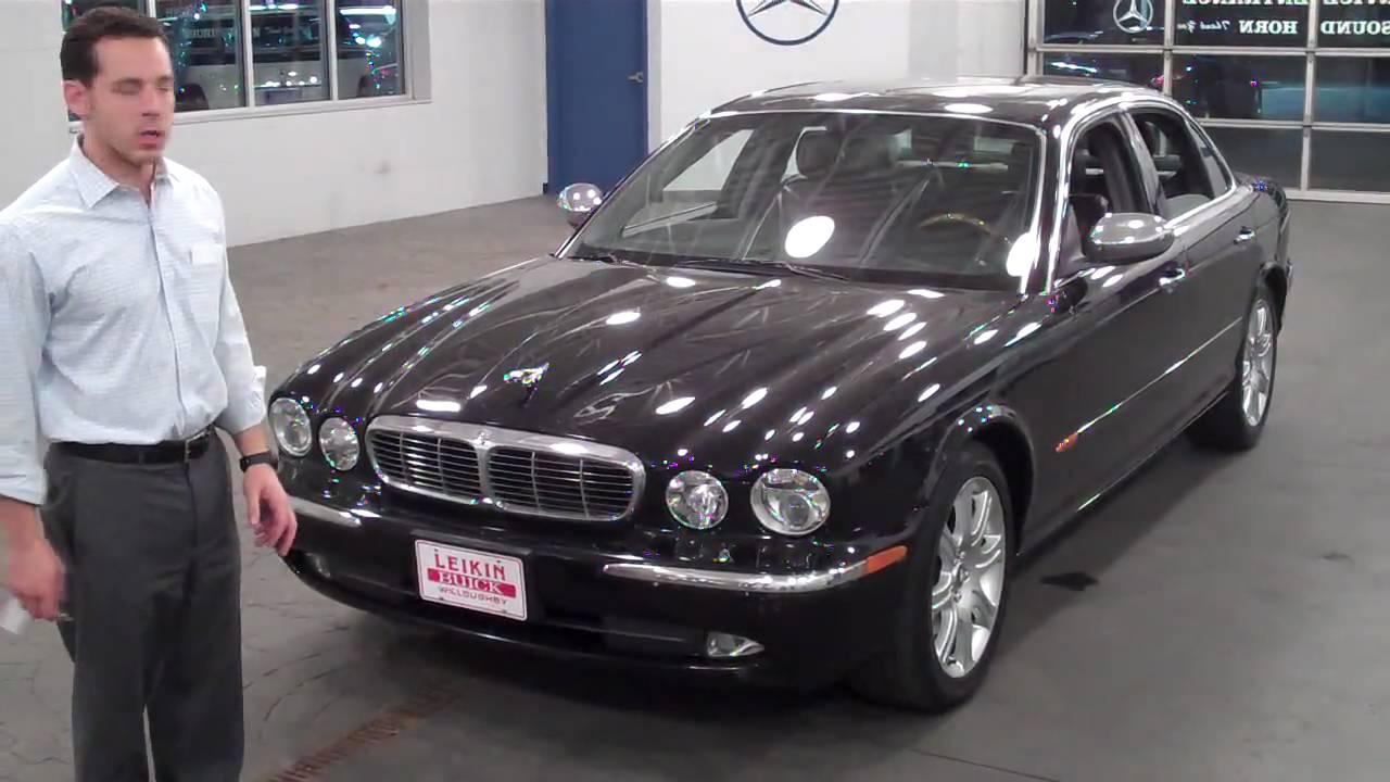 2004 jaguar xj8 vanden plas at leikin motor companies