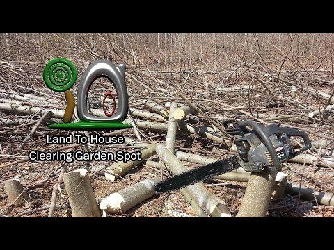 Clearing The Garden Spot