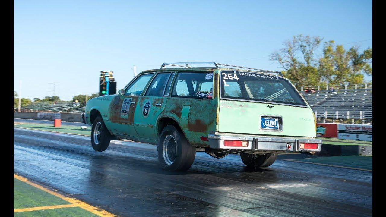 The Week Wagon - 496-cube 1983 Chevy Malibu Wagon