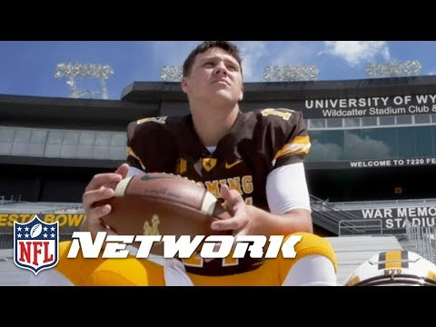 Back 2 Campus: Josh Allen Wyoming Top QB Prospect   NFL Network