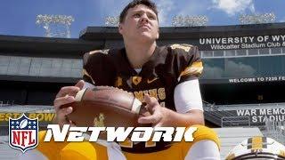 Back 2 Campus: Josh Allen Wyoming Top QB Prospect | NFL Network