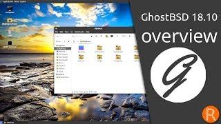 GhostBSD 18.10 overview | A simple, elegant desktop BSD Operating System