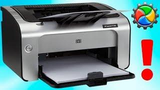 как удалить драйвер принтера Windows 7\ How to uninstall the Windows 7 printer driver