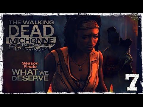 Смотреть прохождение игры The Walking Dead: Michonne. #7: Да будет бой. [ФИНАЛ]