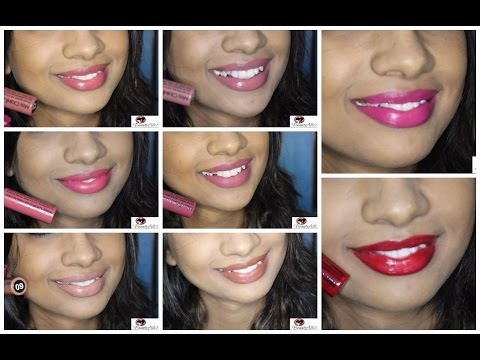 swatches-miss-claire-soft-matte-lip-cream-(best-affordable-indian-liquid-lipstick)