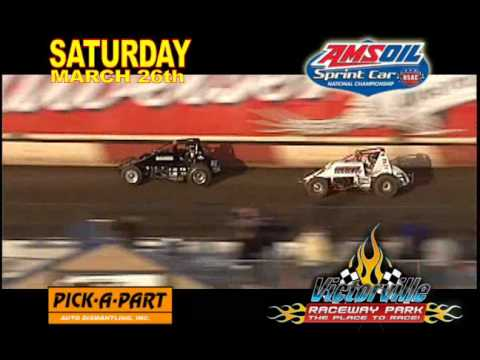 USAC invading Victorville Raceway Park 2011