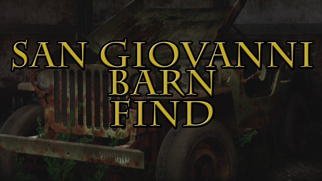 Forza Horizon 2 Barn Find San Giovanni Youtube
