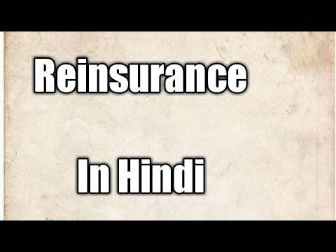Reinsurance meaning in Hindi |Insurance |Only Audio