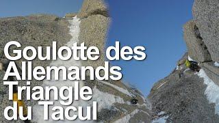 10951_ Goulotte des Allemands Triangle du Tacul Chamonix Mont-Blanc alpinisme