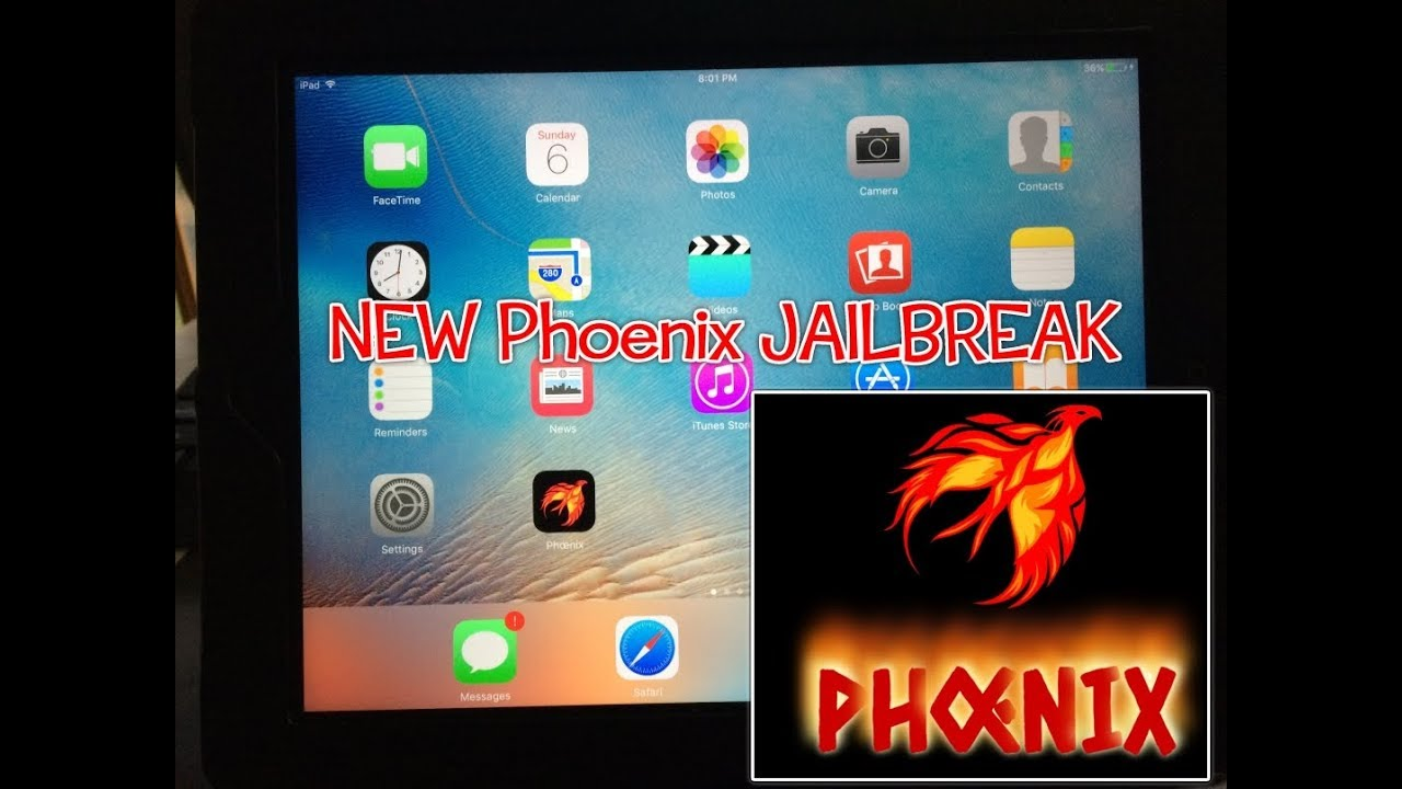 Download Phoenix Jailbreak IPA for iOS 9 3 5 on 32-Bit