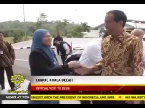Presiden Jokowi kunjungi Kilang Minyak Brunei