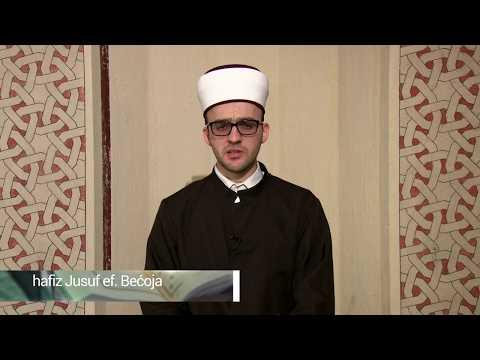 Ramazanski Program 2020. Godine. Komentar 5. Džuza Hfz. Jusuf Ef. Bećoja, Prof.