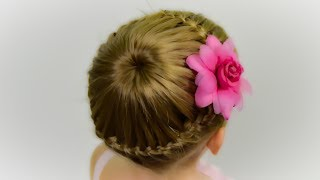 How To: Lace Braided Bun - DIY tutorial!