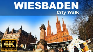 In this video i am taking a short walk wiesbaden , germany - city wiesbaden. let's together!wiesbaden is the state capital of german stat...