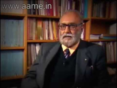 Dr Abdus Salam interview.