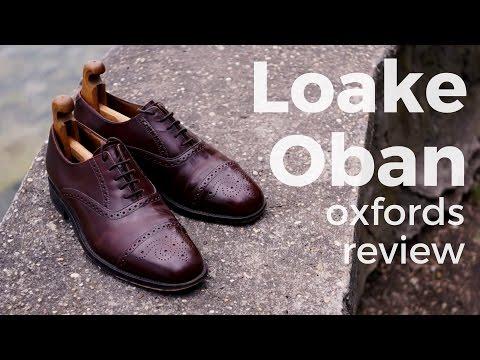 2a25bb45 Loake Oban semi brogue oxfords video review : goodyearwelt