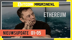 """Elon Musk: """"Ethereum"""" en een Bitcoin hack op Nederlandse cryptobezitter - Nieuwsupdate 01-05"""