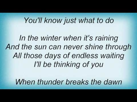 Air Supply - I'll Be Thinking Of You Lyrics