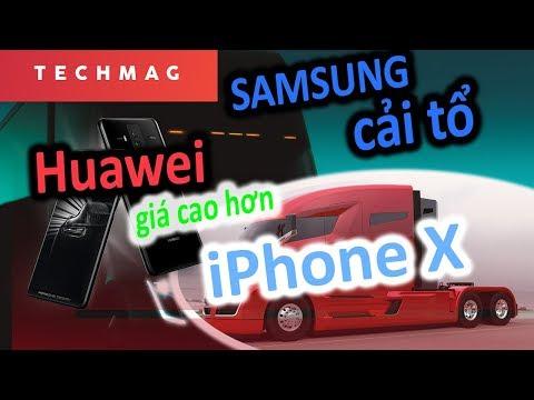 Samsung cải tổ lớn; Tesla xe đầu kéo chạy điện; Huawei giá hơn cả iPhone X|| TECH DAILY|| TECHMAG