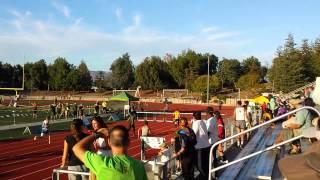 2015 Ventura County 300m Hurdles - Cameron Ewing